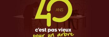 40 ans de l'ébénisterie