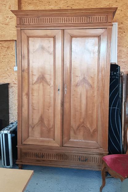 Relooking meuble par l'ébéniste CLaire Bourget à Angers - Avant